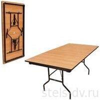 Стол складной Стандарт 16ДМ 189-75РТДЕ бук ножки металл