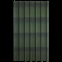 Черепица Ондулин зеленый 1950*960*3мм