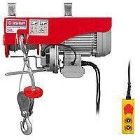 Электротельфер ЗЭТ-1000 мощность 1600 Вт диаметр троса 4,2 мм 220 вольт