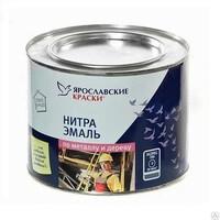 Эмаль НЦ-132К красная 17 кг Ярославские краски