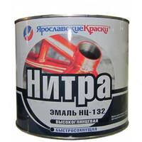 Эмаль НЦ-132 белая 1,7 кг Ярославские краски
