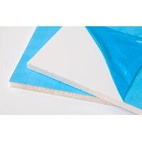 Пластик листовой на откосы сэндвич 1,5 м *3,0 м 10 мм белый