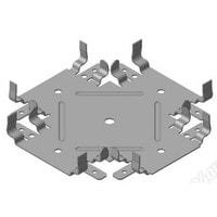 Соединитель одноуровневый Краб для ПП 60*27 мм
