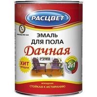 Эмаль Дачная зол-корич. ПФ-266 0,9 кг для пола Расцвет